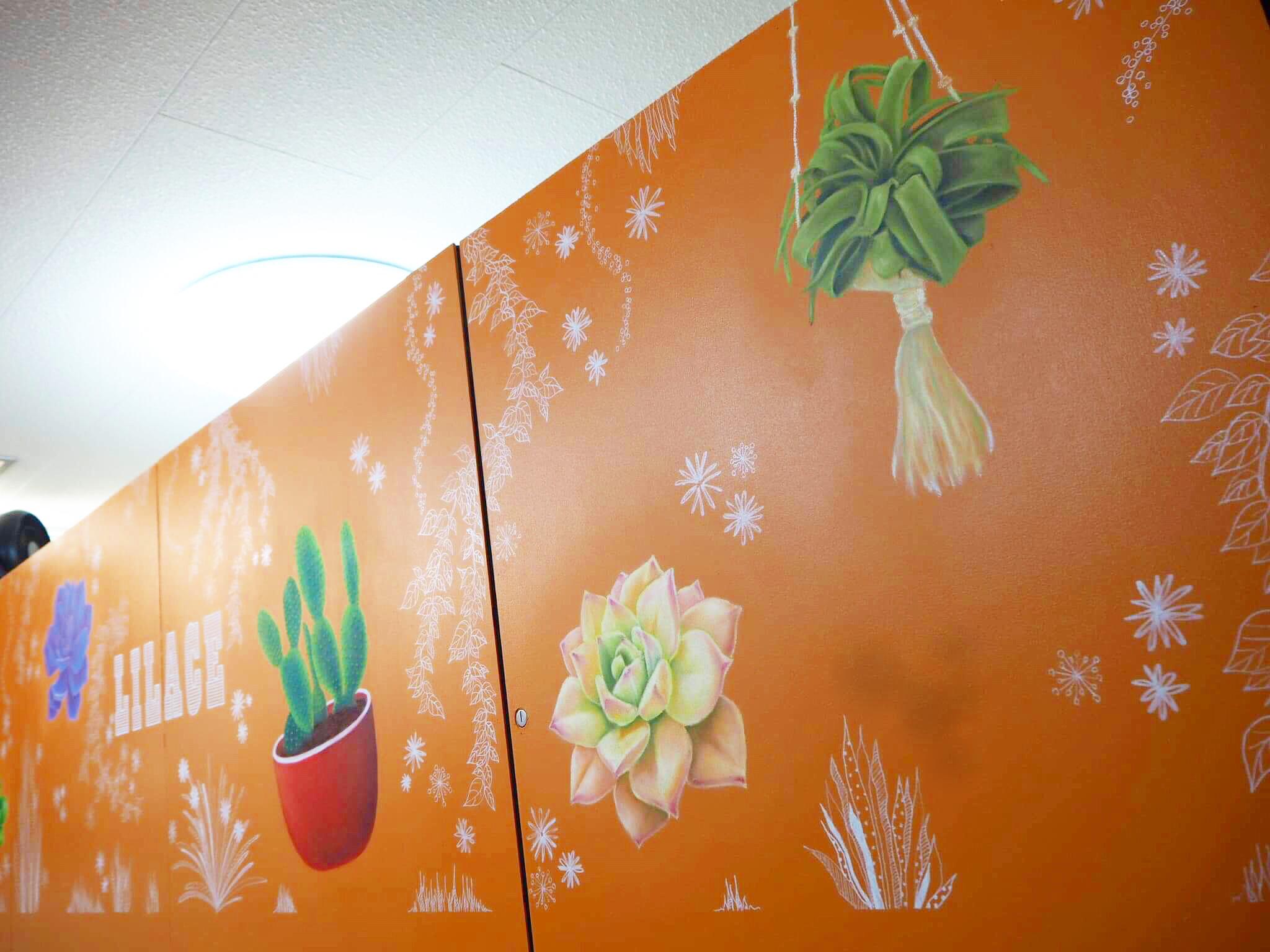 キッズルーム壁画
